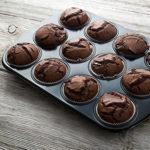 Flourless Brownie Muffins recipe
