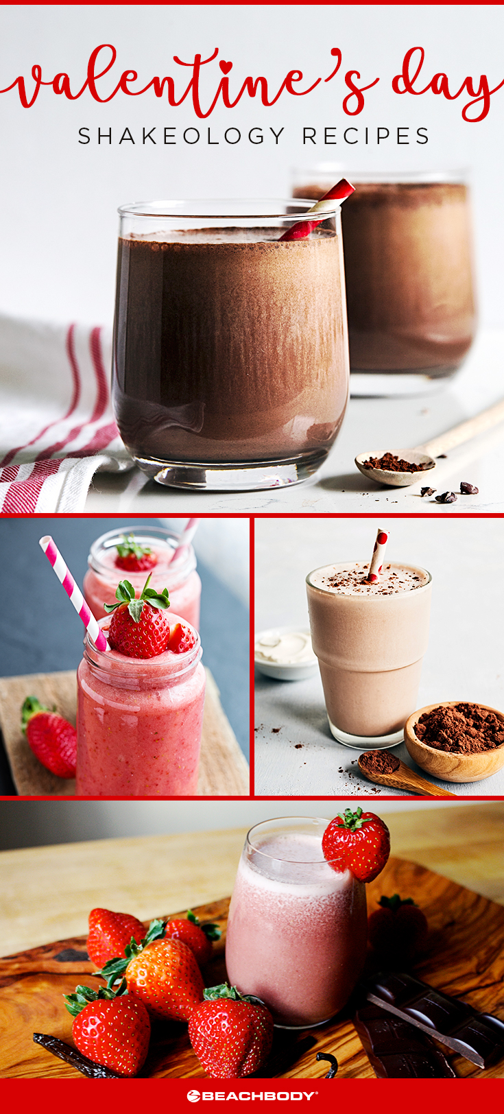 7 Valentine's Day Shakeology Recipes