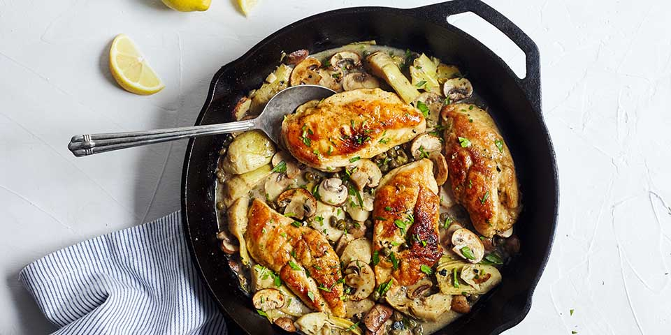 Chicken Piccata Recipe The Beachbody Blog