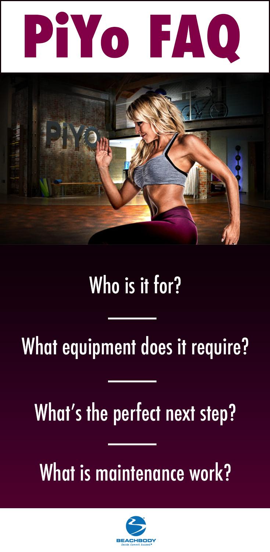 Have you tried PiYo? Pilates and yoga inspired cardio. Piyo exercise FAQ