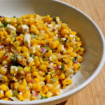 gilled corn salad