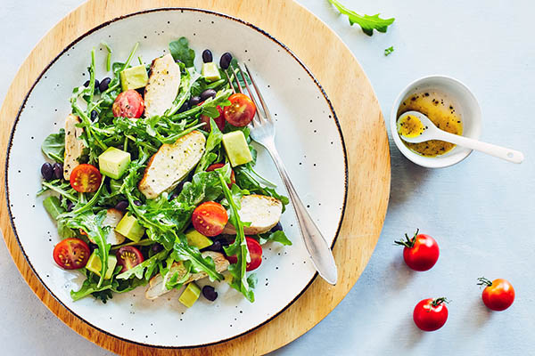 2B Lunch Recipes - Arugula salad