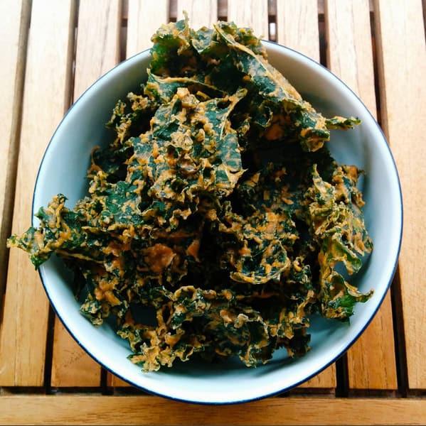 Meal Prep Snacks kale chips