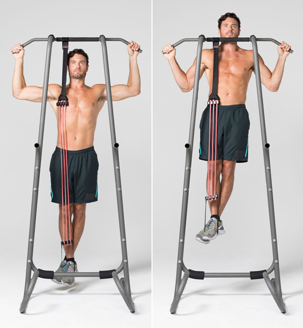 How to Get Better At Pull-Ups - Assisted Pull Ups