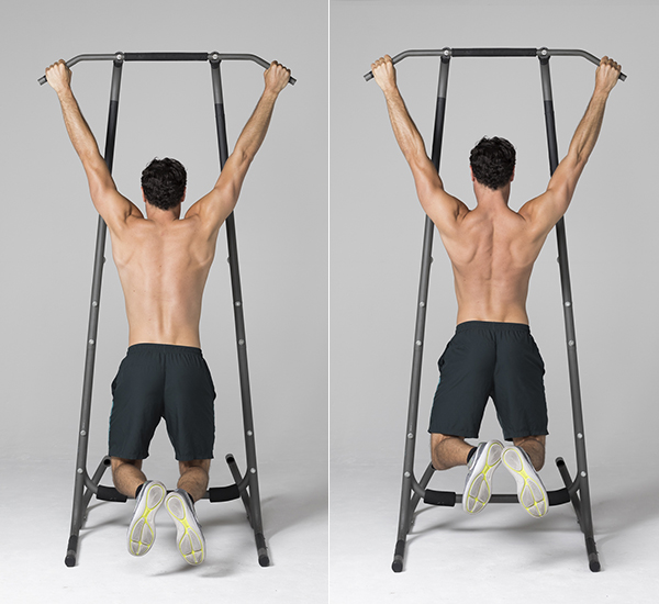 How to Get Better At Pull-Ups - Scapular Pull-Ups