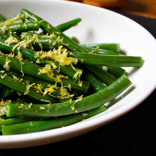 Green Beans with Lemon and Thyme