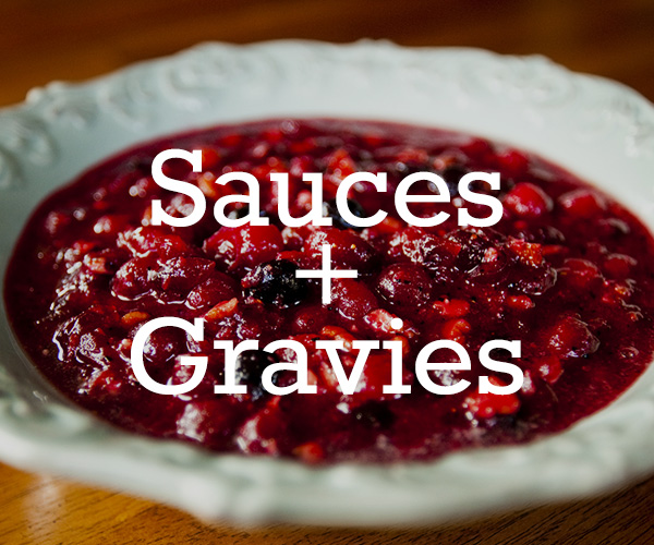 Sauces and Gravy Recipes
