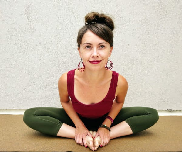 How to Stretch the Lower Back - Baddha Konasana pose