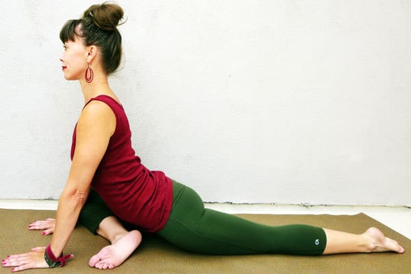 Lower Back Stretches for Back and Hip Pain - Pigeon Pose - Eka Pada Rajakapotasana