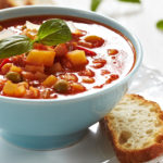Nothing satisfies on a chilly day like this hearty Homemade Vegetable Soup seasoned with fragrant aromatics and filled with fresh veggies.