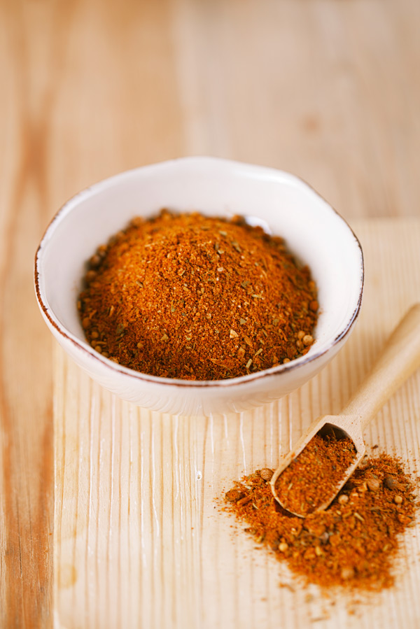 This flavorful, all-natural Taco Seasoning features a blend of traditional Mexican spices like ground cumin, dried oregano, and of course chili powder.