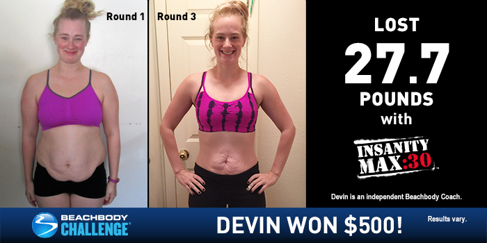 Insanity Max 30 Results Mother Of Four Loses 27 7 Pounds