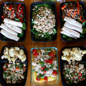 1,200–1,500 Calorie Level Meal Prep in 90 Minutes or Less | BeachbodyBlog.com