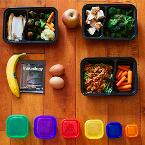 21 Day Fix Meal Prep Menu with Zucchini Noodle Pasta | BeachbodyBlog.com