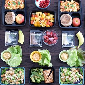 Vegetarian Meal Prep For Those Eating 1,500–1,800 Calories!
