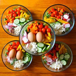 Eat the Rainbow With This 1500-1800 Calorie 21 Day Fix Meal Prep | BeachbodyBlog.com
