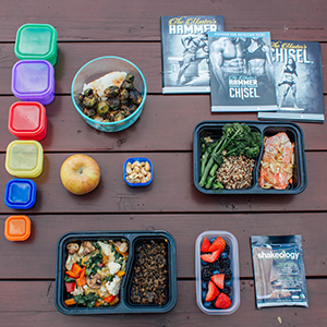 Go Grain Free With This 1500-1800 Calorie Meal Prep For The Master's Hammer and Chisel | BeachbodyBlog.com