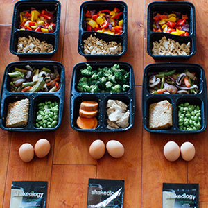 High-Protein Meal Prep Menu with Shakeology | BeachbodyBlog.com