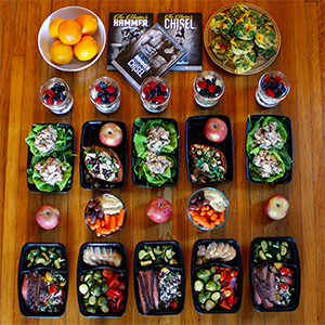 How to Meal Prep for The Master's Hammer and Chisel | BeachbodyBlog.com