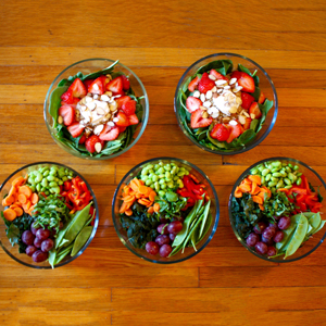 This Healthy 1200-1500 Calorie Vegetarian Meal Prep Is a Must See | BeachbodyBlog.com