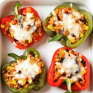 Veggie Fritatta, Stuffed Bell Peppers, and Four Other 21 Day Fix Meal Prep Ideas | BeachbodyBlog.com