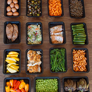 Buffet Style Meal Prep for Spring