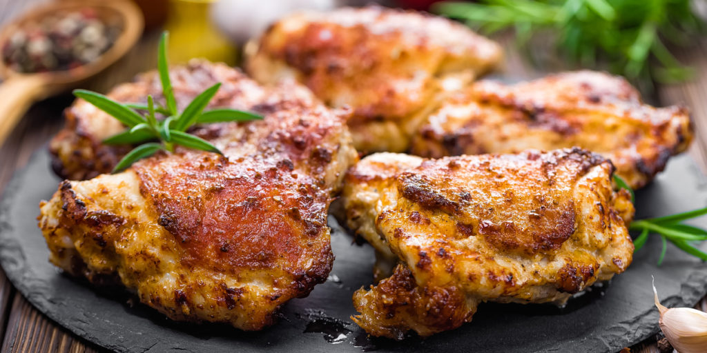 Lemon Garlic Chicken Thighs Recipe The Beachbody Blog
