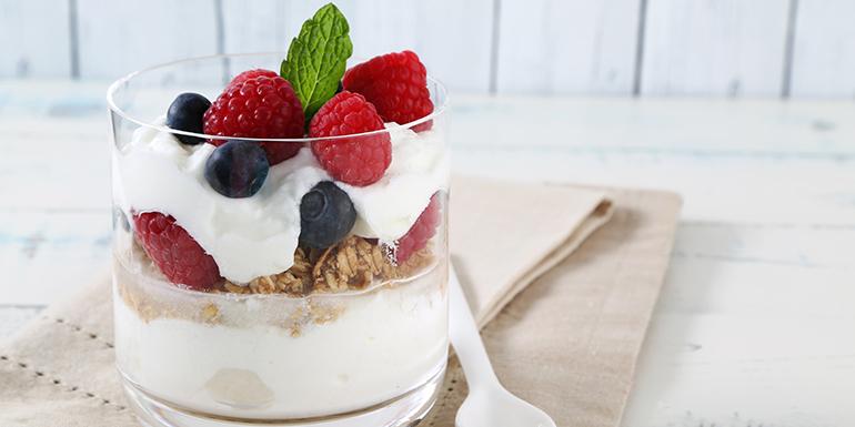 Yogurt Berry Parfait