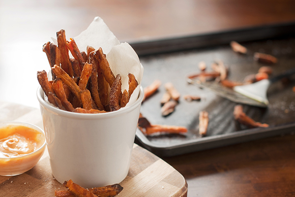 Healthy Snacks for Kids, baked sweet potato fries healthy snacks