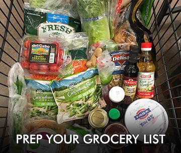 Grocery List - 21 Day List Resource