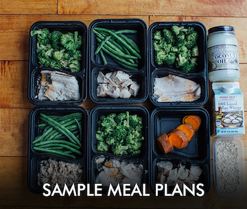 Sample Meal Plans - 21 Day Fix Resource