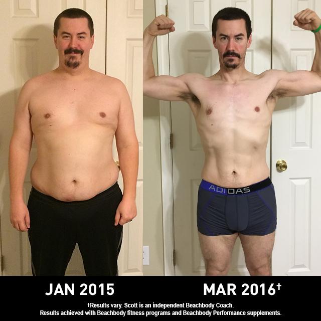 Beachbody Results: Scott Lost 74 Pounds and Won $1,500