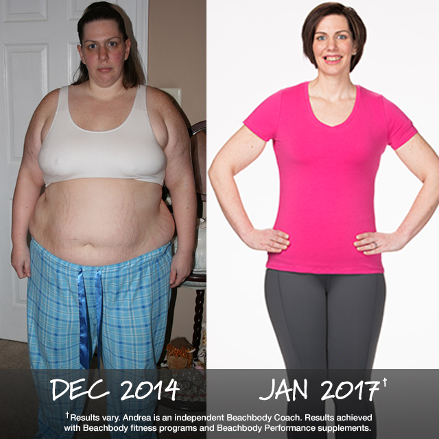 Beachbody Results: Andrea Lost 165 Pounds and Won $6,000!