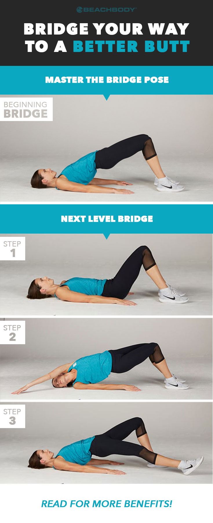 Never heard of a bridge exercise? Already a master? Read on to learn the basics, plus discover more challenging bridge exercise variations and their benefits.
