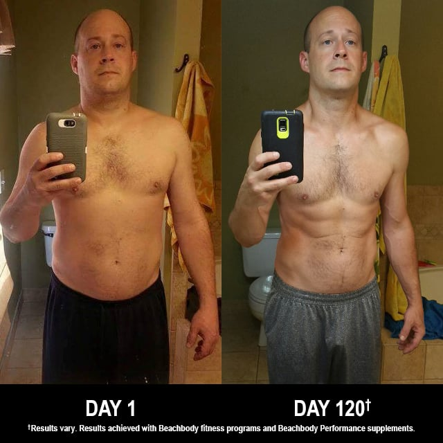 INSANITY MAX:30 Results: Stephen Lost 41 Pounds in 120 Days