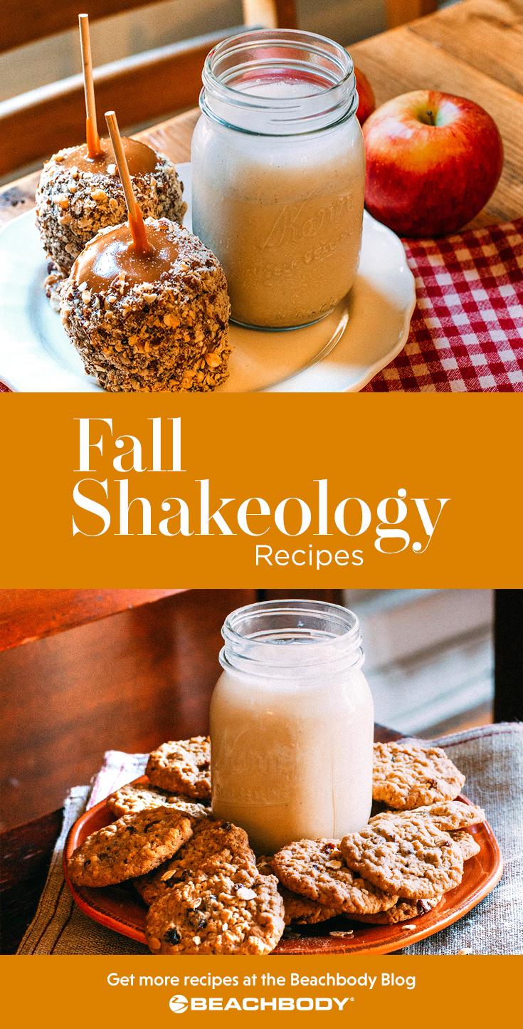 Fall Shakeology smoothie recipes