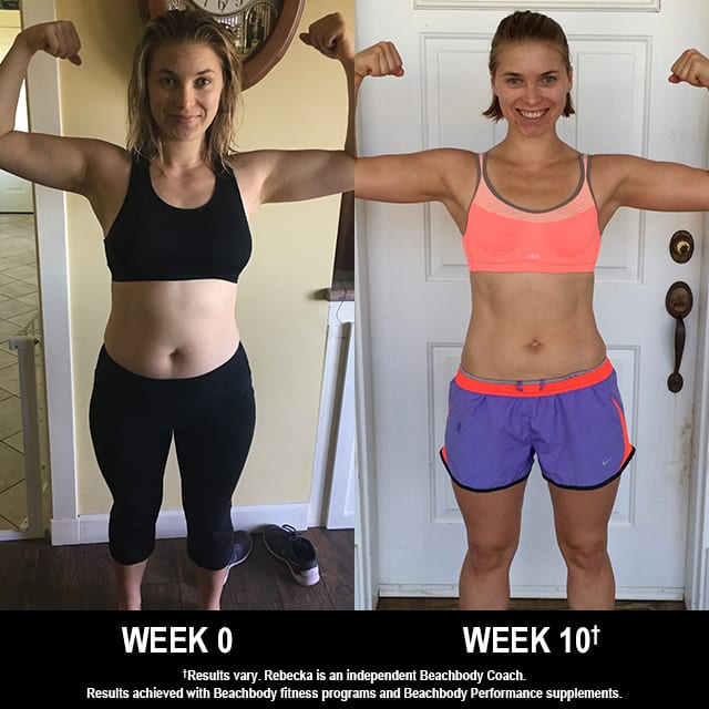 FOCUS T25 Results: This Mom Lost 20 Pounds in 10 Weeks!