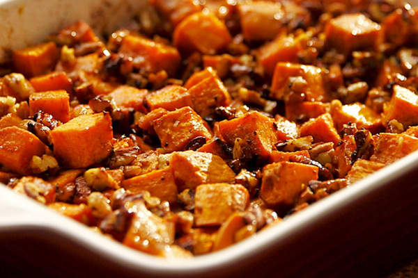 Healthy Thanksgiving Recipes from FIXATE Sweet Potato Casserole