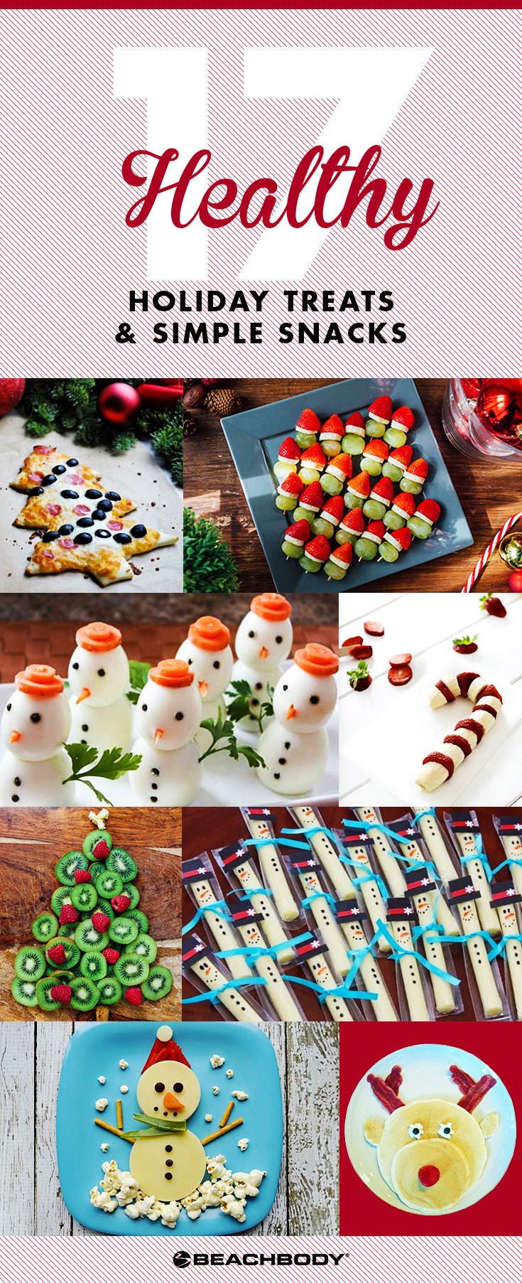 17 Healthy Holiday Treats and Snacks for Kids, healthy snack ideas, holiday snacks