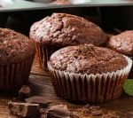 Chocolate-Peppermint-Muffins