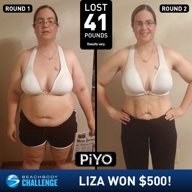 PiYo Results Women