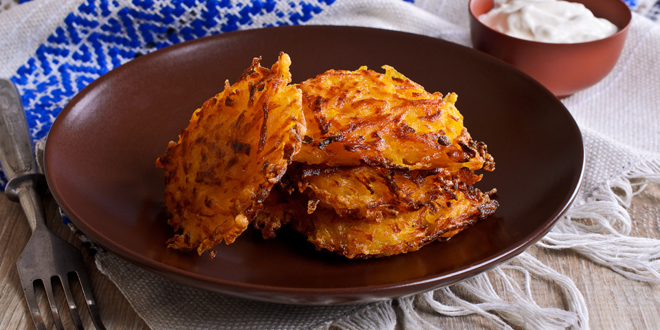 Sweet Potato Latkes Recipe | The Beachbody Blog