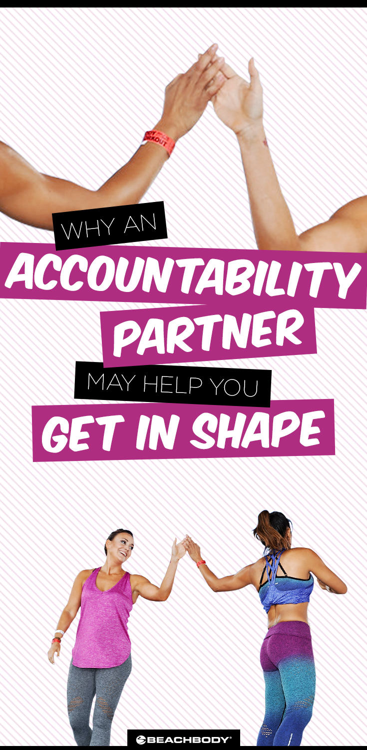 Weight loss can seem like a math problem: Burn more calories than you consume, and you'll see results! But the reason why that seems so hard to do is because most people are missing a crucial part of the equation: an accountability partner.
