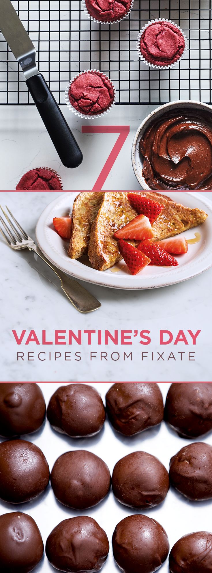 Healthy Valentine's Day Recipes from FIXATE cooking show with Autumn Calabrese.