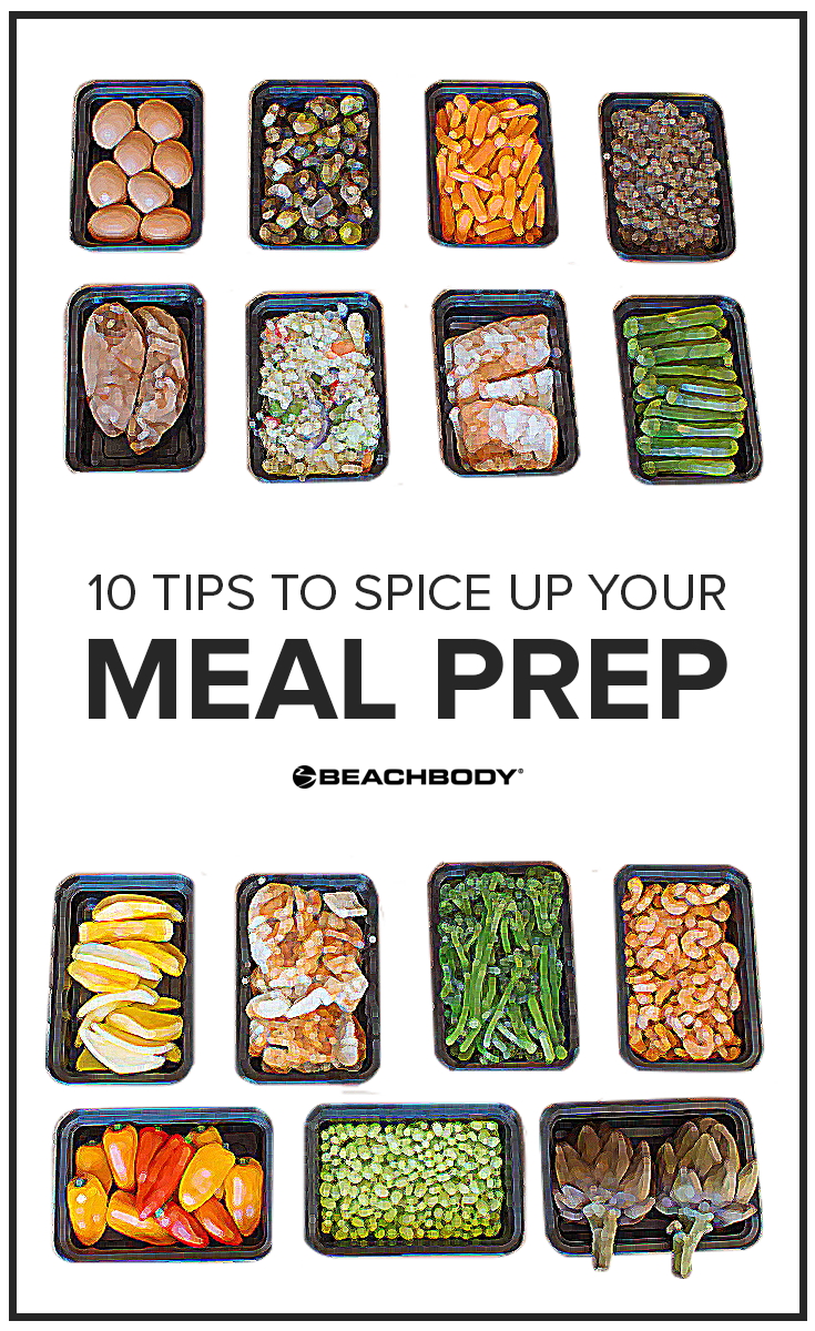 Getting bored of your meal prep? Check out these 10 tips to meal prep your week to success! Meal planning // 21 Day Fix // Healthy Eating // Beachbody // Beachbody Blog