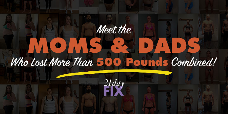21 Day Fix Results: These Moms & Dads Lost More Than 500 POUNDS Combined!