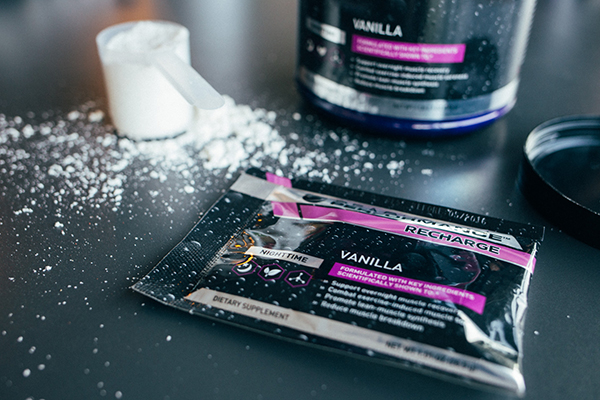 Vanilla Recharge tub