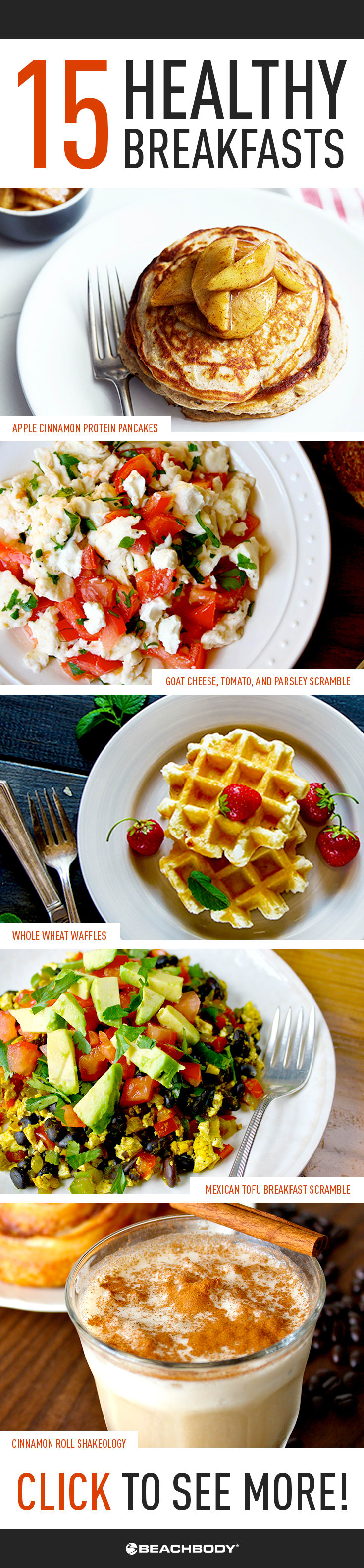 15 healthy breakfast recipe ideas the beachbody blog 15 healthy breakfasts forumfinder Gallery