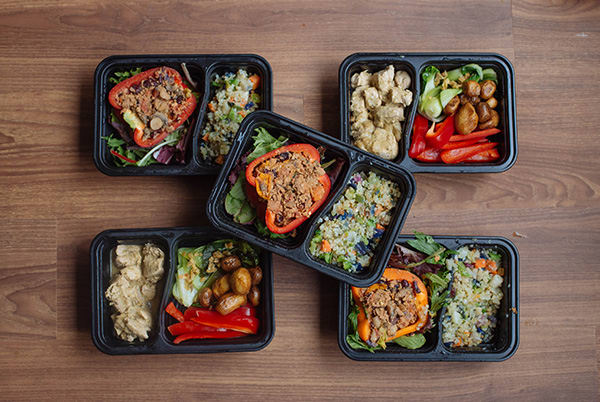Late Summer Meal Prep for the 1,500-1,800 Calorie Level Lunches