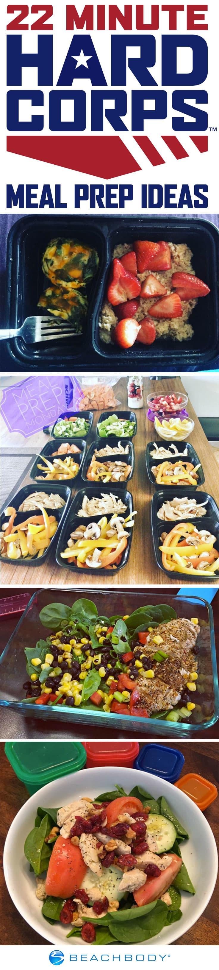 19 Inspiring Meal Prep Ideas for 22 Minute Hard Corps | BeachbodyBlog.com